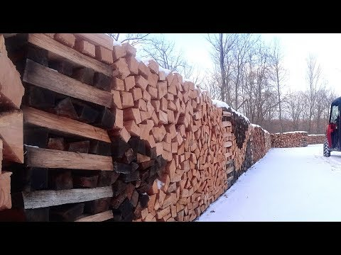 #95 How To Cut Your Firewood All The Same Lengths
