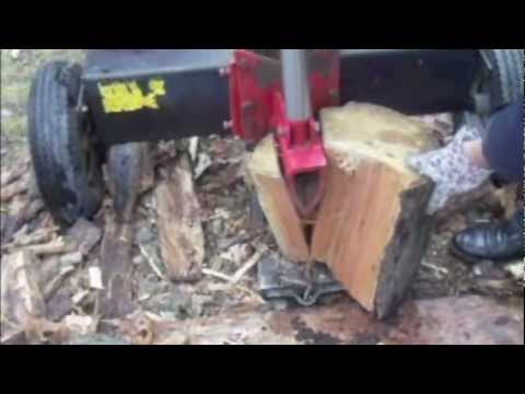 How to Safely Split Wood Using a Hydraulic Log Splitter