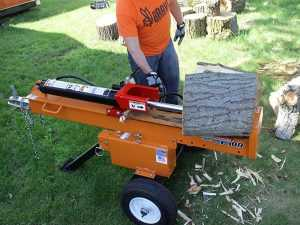 Best Log Splitters - Horizontal