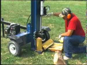 Best Log Splitters - Vertical